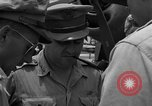 Image of review of mission Saipan Northern Mariana Islands, 1945, second 25 stock footage video 65675072101