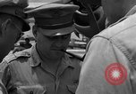 Image of review of mission Saipan Northern Mariana Islands, 1945, second 30 stock footage video 65675072101