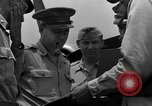 Image of review of mission Saipan Northern Mariana Islands, 1945, second 38 stock footage video 65675072101