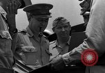 Image of review of mission Saipan Northern Mariana Islands, 1945, second 39 stock footage video 65675072101