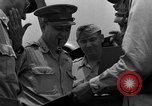 Image of review of mission Saipan Northern Mariana Islands, 1945, second 41 stock footage video 65675072101