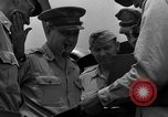 Image of review of mission Saipan Northern Mariana Islands, 1945, second 42 stock footage video 65675072101