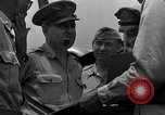 Image of review of mission Saipan Northern Mariana Islands, 1945, second 43 stock footage video 65675072101