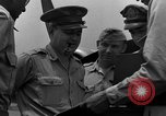 Image of review of mission Saipan Northern Mariana Islands, 1945, second 45 stock footage video 65675072101