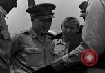 Image of review of mission Saipan Northern Mariana Islands, 1945, second 46 stock footage video 65675072101