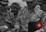 Image of review of mission Saipan Northern Mariana Islands, 1945, second 48 stock footage video 65675072101
