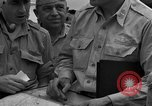 Image of review of mission Saipan Northern Mariana Islands, 1945, second 56 stock footage video 65675072101