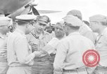 Image of review of mission Saipan Northern Mariana Islands, 1945, second 57 stock footage video 65675072101