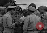 Image of review of mission Saipan Northern Mariana Islands, 1945, second 59 stock footage video 65675072101