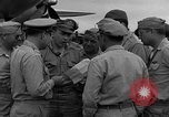 Image of review of mission Saipan Northern Mariana Islands, 1945, second 60 stock footage video 65675072101