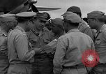 Image of review of mission Saipan Northern Mariana Islands, 1945, second 61 stock footage video 65675072101