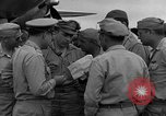 Image of review of mission Saipan Northern Mariana Islands, 1945, second 62 stock footage video 65675072101