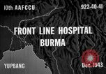 Image of Chinese casualties evacuated Burma, 1943, second 1 stock footage video 65675072107