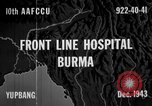 Image of Chinese casualties evacuated Burma, 1943, second 2 stock footage video 65675072107