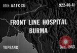 Image of Chinese casualties evacuated Burma, 1943, second 4 stock footage video 65675072107