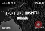Image of Chinese casualties evacuated Burma, 1943, second 5 stock footage video 65675072107