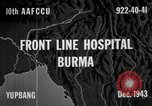 Image of Chinese casualties evacuated Burma, 1943, second 6 stock footage video 65675072107