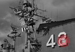 Image of USS Franklin D Roosevelt Atlantic Ocean, 1952, second 46 stock footage video 65675072119