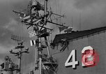 Image of USS Franklin D Roosevelt Atlantic Ocean, 1952, second 47 stock footage video 65675072119