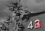 Image of USS Franklin D Roosevelt Atlantic Ocean, 1952, second 51 stock footage video 65675072119