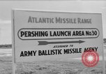 Image of Pershing missile Cape Canaveral Florida USA, 1960, second 1 stock footage video 65675072130
