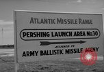 Image of Pershing missile Cape Canaveral Florida USA, 1960, second 2 stock footage video 65675072130