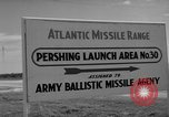 Image of Pershing missile Cape Canaveral Florida USA, 1960, second 3 stock footage video 65675072130