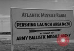 Image of Pershing missile Cape Canaveral Florida USA, 1960, second 4 stock footage video 65675072130