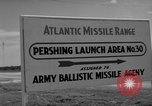 Image of Pershing missile Cape Canaveral Florida USA, 1960, second 5 stock footage video 65675072130