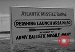 Image of Pershing missile Cape Canaveral Florida USA, 1960, second 7 stock footage video 65675072130