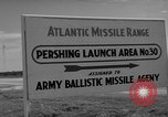 Image of Pershing missile Cape Canaveral Florida USA, 1960, second 8 stock footage video 65675072130