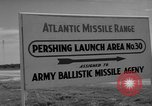 Image of Pershing missile Cape Canaveral Florida USA, 1960, second 10 stock footage video 65675072130