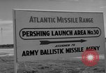 Image of Pershing missile Cape Canaveral Florida USA, 1960, second 11 stock footage video 65675072130