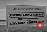 Image of Pershing missile Cape Canaveral Florida USA, 1960, second 12 stock footage video 65675072130