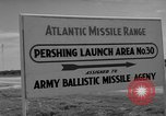 Image of Pershing missile Cape Canaveral Florida USA, 1960, second 13 stock footage video 65675072130