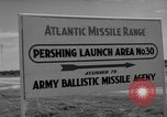 Image of Pershing missile Cape Canaveral Florida USA, 1960, second 14 stock footage video 65675072130