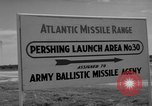 Image of Pershing missile Cape Canaveral Florida USA, 1960, second 15 stock footage video 65675072130
