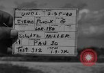 Image of Pershing missile Cape Canaveral Florida USA, 1960, second 7 stock footage video 65675072131