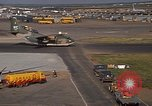 Image of different aircraft Vietnam, 1968, second 57 stock footage video 65675072137