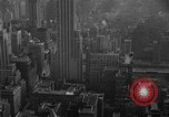 Image of window cleaner New York City USA, 1945, second 15 stock footage video 65675072164