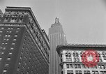 Image of window cleaner New York City USA, 1945, second 34 stock footage video 65675072164