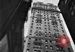 Image of window cleaner New York City USA, 1945, second 36 stock footage video 65675072164