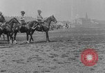 Image of Austro-Hungarian cavalry on battlefield in World War 1 Austria-Hungary, 1916, second 10 stock footage video 65675072169