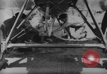 Image of mid-air refueling San Diego California USA, 1923, second 37 stock footage video 65675072184
