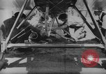 Image of mid-air refueling San Diego California USA, 1923, second 38 stock footage video 65675072184