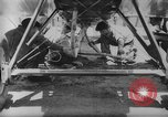 Image of mid-air refueling San Diego California USA, 1923, second 39 stock footage video 65675072184