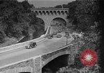 Image of Commuters driving to Washington, DC, on Rock Creek Parkway Washington DC USA, 1935, second 1 stock footage video 65675072204