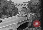 Image of Commuters driving to Washington, DC, on Rock Creek Parkway Washington DC USA, 1935, second 2 stock footage video 65675072204
