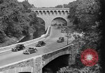 Image of Commuters driving to Washington, DC, on Rock Creek Parkway Washington DC USA, 1935, second 5 stock footage video 65675072204