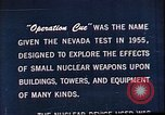 Image of Operation Cue Nevada United States USA, 1964, second 7 stock footage video 65675072219